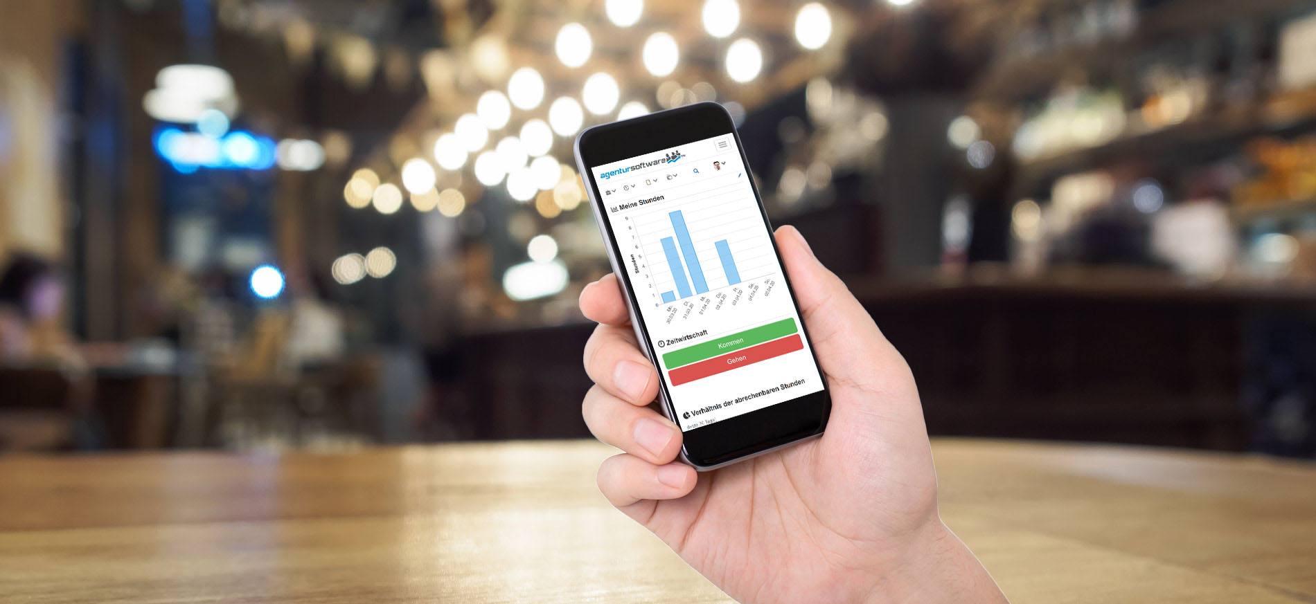 Mobiler Zugriff auf die Agentursoftware